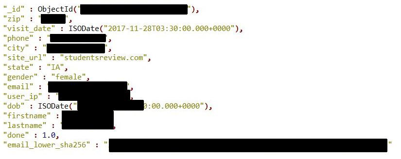 - diachenko info mongodbw825 - Breach of 'Verifications.io' Exposes 763 Million Records