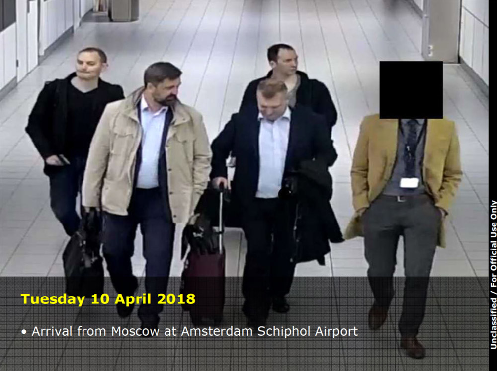 - schipol russians oct2018 - Dutch and British Governments Slam Russia for Cyberattacks