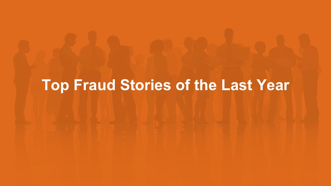Top Fraud Stories and 2015 PredictionsWebinar.